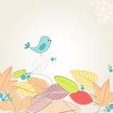 Cute autumn illustration Stock Photography