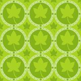 Cute autumn pattern Stock Photo