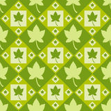 Cute autumn pattern Stock Photos