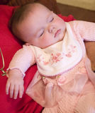 Cute Babie Sleeping Royalty Free Stock Photos