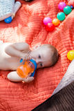 Cute babies Royalty Free Stock Image