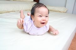 Cute baby! Royalty Free Stock Photo