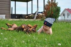 Cute baby Royalty Free Stock Photos