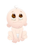Cute Baby. Conceptual Creative Design Art of Cute Baby Vector Illustration Royalty Free Stock Photography
