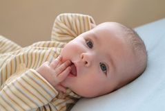 Cute Baby Stock Images