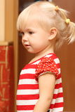 Cute baby. She is cute baby girl Stock Image