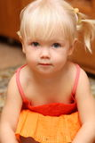 Cute baby. She is cute baby girl Stock Images