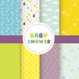 Cute Baby Background. Seamless Pattern Stock Photography
