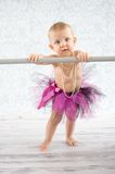 Cute baby ballerina Stock Photos