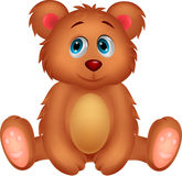 Cute baby bear cartoon Royalty Free Stock Photography