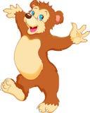 Cute baby bear cartoon Stock Photos