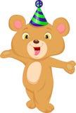 Cute baby bear cartoon Royalty Free Stock Images