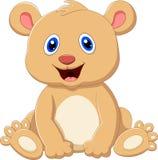 Cute baby bear cartoon Stock Photo