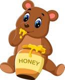 Cute baby bear cartoon Royalty Free Stock Photo