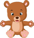 Cute baby bears cartoon. Illustration of cute baby bears cartoon Royalty Free Stock Photos