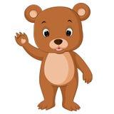 Cute baby bears cartoon. Illustration of cute baby bears cartoon Stock Photography