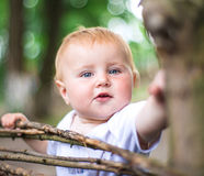 Cute baby Stock Photography
