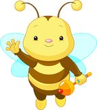 Cute baby Bee Stock Photo