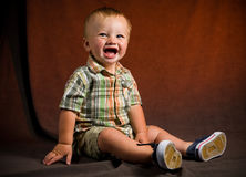 Cute Baby Boy Stock Photography