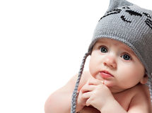 Cute baby boy Royalty Free Stock Photos