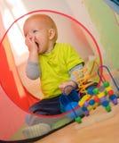 Cute baby boy Stock Photos