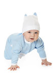 Cute baby boy Stock Images