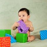 Cute baby boy. Cute hispanic baby boy portrait Stock Photos