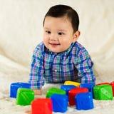 Cute baby boy. Cute hispanic baby boy portrait Royalty Free Stock Photo
