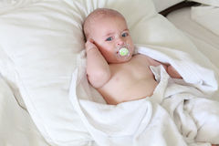 Cute baby boy Royalty Free Stock Images
