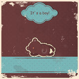 Cute baby boy shower Stock Images