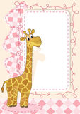 Cute baby card Royalty Free Stock Image