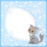 Cute baby card Royalty Free Stock Photo