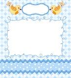 Cute baby card Royalty Free Stock Photos
