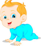 Cute baby cartoon Stock Photos