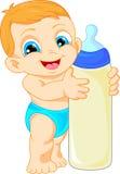 Cute baby cartoon Royalty Free Stock Photography