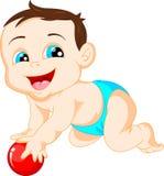 Cute baby cartoon Stock Photography