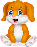 Cute baby dog cartoon Stock Photography