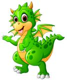 Cute baby dragon Royalty Free Stock Photo