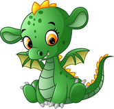 Cute baby dragon Stock Photo