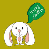 Cute baby Easter bunny Stock Photo