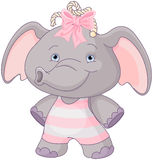 Cute Baby Elephant Royalty Free Stock Photography