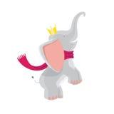 Cute Baby Elephants Stock Image