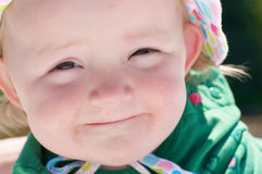 Cute baby face Stock Photos