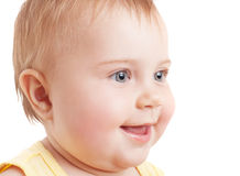 Cute baby face Stock Images