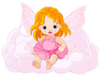 Cute Baby Fairy Royalty Free Stock Photo