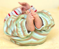 Cute baby foots Royalty Free Stock Photography