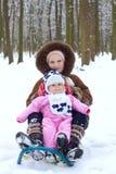Cute baby girl Stock Image
