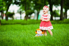 Cute baby-girl Royalty Free Stock Photography