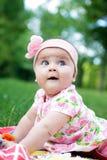 Cute baby-girl Stock Photos