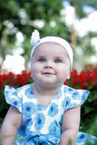 Cute baby-girl Royalty Free Stock Image